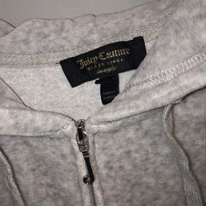 Juicy couture gray hoodie